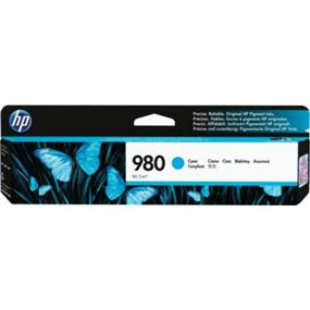 HP 980 Cyan Ink Cartridge(D8J07A)