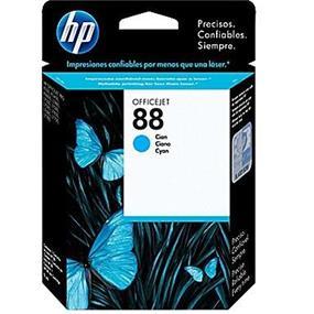 HP 88 Cyan Original Ink Cartridge (C9386AN)