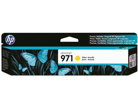 HP 971 Yellow Original Ink Cartridge (CN624AM)