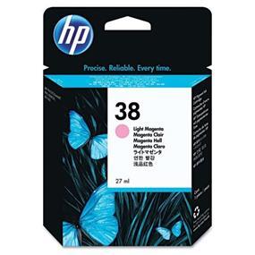 HP 38 Light Magenta Pigment Original Ink Cartridge(C9419A)