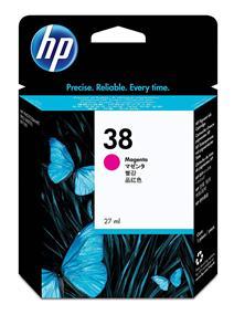 HP 38 Magenta Pigment Original Ink Cartridge(C9416A)