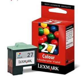 Lexmark #27 Tri-Color Ink Cartridges (10N0227)