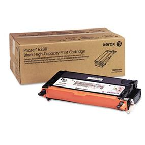 Xerox 106R01395 Black High Capacity Print Cartridge for Phaser 6280