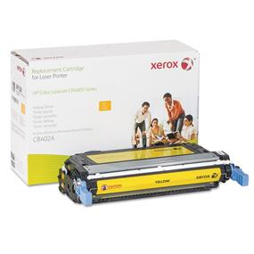 Xerox Replacement Yellow Toner Cartridge for HP CB402A