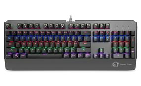 Delux Mechanical Gaming Keyboard (KM06U Black)