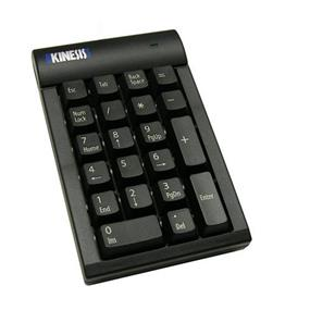 Kinesis USB Numeric Keypad, Cherry Low-Force Mechanical Switches PC (AC210USB-BLK)