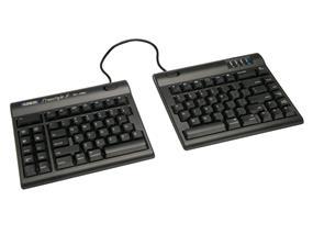 Kinesis Freestyle2 Keyboard for Mac, US English Legending, Black, 9 inch maximum separation (KB800HMB-US)