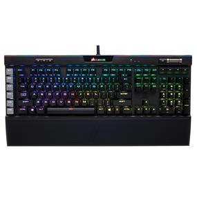 Corsair Gaming K95 RGB PLATINUM Mechanical Keyboard, Backlit RGB LED, Cherry MX Brown, Black (CH-9127012-NA)