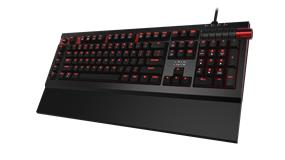 Azio MGK Armato Gaming Keyboard (MX Cherry Brown / Red Backlight)