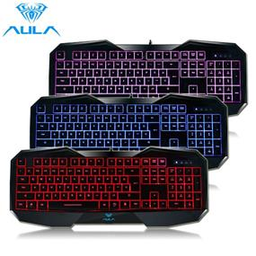 AULA LED Gaming Keyboard - Black (SI-859)