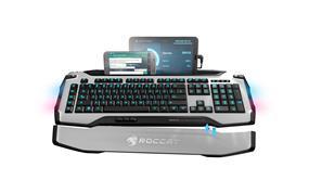 ROCCAT SKELTR- Smart Communication RGB Gaming Keyboard, White