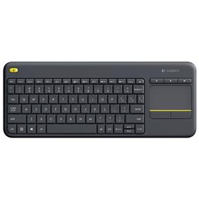 Logitech K400 Plus Wireless Touch Keyboard TV - Black (920-007119)