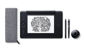 Wacom Intuos Pro Paper Edition - Professional Pen and Touch Tablet - Medium - Black (PTH660P)