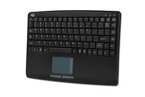 Adesso SlimTouch Mini USB Keyboard w/Touchpad - Black (AKB-410UB)