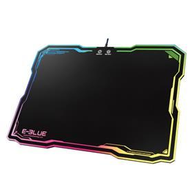 E-Blue Auroza RGB Mouse Pad - 10 lighting modes - USB pass-thru