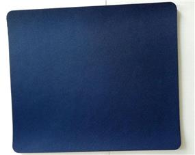 iCAN Soft Mouse Pad (KLB-01BU) Glossy fabric+3mm  natural rubber (Blue)