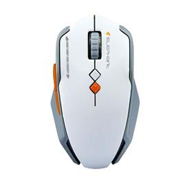 Elephant ELE-M521 2.4G Silent Wheel Wireless Mouse (White)