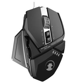 Assassin AM-6000 7 Color Backlighting Wired Gaming Mouse, Black
