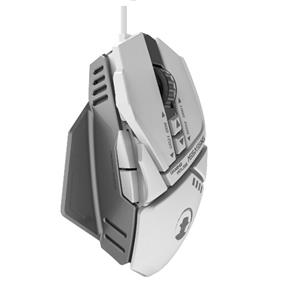 Assassin (AM-6000) - 7 Color Backlighting Wired Gaming Mouse, White