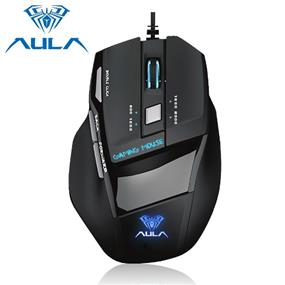 AULA SI-928 Wired Gaming Mouse, 800-1000(default)-2000-3200 DPI, USB, Black
