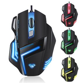 AULA SI-989 Wired Gaming Mouse, 1000-1500-2000-2500 DPI, USB, Black