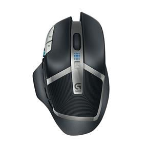 Logitech G602 Wireless Gaming Mouse - Matte Black and Silver (910-003820)