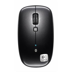 Logitech M555B Bluetooth Wireless Mouse - Black (910-003359)