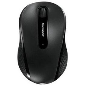 Microsoft 4000 Mouse - BlueTrack - Wireless - Radio Frequency - Black - USB 2.0 - 1000 dpi - Tilt Wheel - 4 Button(s)