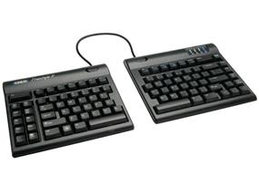 Kinesis Freestyle2 Keyboard for PC, US English Legending, Black, 9 inch maximum separation (KB800PB-US)