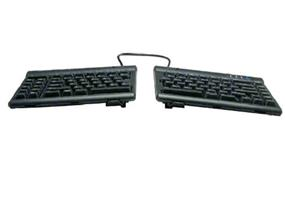 Kinesis Freestyle2 Keyboard For PC, US English, Black, 9 Inch Separation and V3 Accessory Bundle (KB830PB-US)