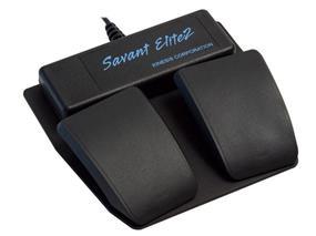 Kinesis Savant Elite2 Dual Pedal Footswitch with Input Jack (FP20AJ)