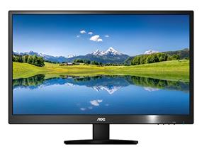 """AOC E2070SWHN 19.5"""" Class Slim Design Monitor"""