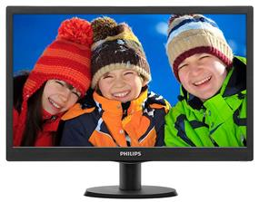 "Philips 243V5LHSB/27 23.6"" Widescreen LCD Monitor"