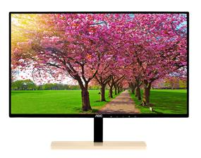 "AOC P2779VC 27"" PLS FHD Monitor with Qi Wireless Charging Base"