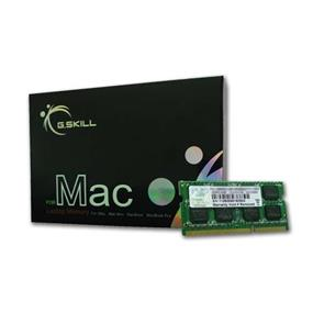 G.SKILL SODIMM Series 4GB (1x4GB) DDR3 1600MHz CL11  Memory Kit 1.5V-For Apple (FA-1600C11S-4GSQ)