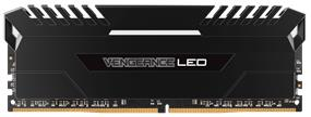 Corsair VENGEANCE LED 32GB 2X16GB DDR4 3000MHZ C15 1.35V Memory-Black With White LED(CMU32GX4M2C3000C15)