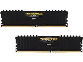 Corsair Vengeance LPX  32GB 2X16GB DDR4 2666MHZ C16 1.2V DIMM Black(CMK32GX4M2A2666C16)