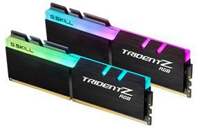 G.SKILL Trident Z  RGB Series 16GB (2x8GB) DDR4 3200MHz CL14 Dual Channel Memory Kit 1.35V (F4-3200C14D-16GTZR)