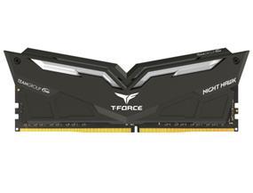 Team T-Force Night Hawk 16GB (2x8GB) DDR4 3000MHz CL16 Memory Kit - White LED  (THWD416G3000HC16CDC01)