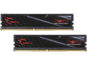 G.SKILL FORTIS Series 16GB (2x8GB) DDR4 2400MHz CL15 Dual Channel Memory Kit 1.2V (F4-2400C15D-16GFT)