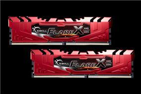 G.SKILL Flare X Series 16GB (2x8GB) DDR4 2400MHz CL15 Dual Channel Memory Kit 1.2V (F4-2400C15D-16GFXR)