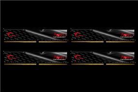 G.SKILL FORTIS Series 32GB (4x8GB) DDR4 2400MHz CL16 Quad Channel Memory Kit 1.2V (F4-2400C16Q-32GFT)