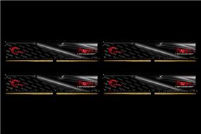 G.SKILL FORTIS Series 32GB (4x8GB) DDR4 2400MHz CL15 Quad Channel Memory Kit 1.2V (F4-2400C15Q-32GFT)