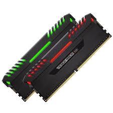 Corsair Vengeance RGB 16GB (2 x 8GB) DDR4 3466 MHz CL16 Dual Channel Memory Kit 1.35V (CMR16GX4M2C3466C16)