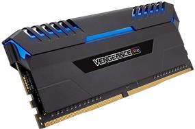 Corsair Vengeance RGB 32GB (2 x 16GB) DDR4 3200 MHz CL16 Dual Channel Memory Kit 1.35V (CMR32GX4M2C3200C16)