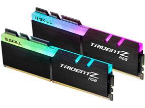 G.SKILL Trident Z RGB Series 16GB(2x 8GB) 3000 MHz C16 Dual Channel Memory Kit 1.35V (F4-3000C16D-16GTZR)