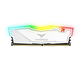 Team T-Force Delta RGB 16GB(2x 8GB) 2400 MHz C15 Dual Channel Memory Kit 1.2V White (TF4D416G2400HC15BDC01)
