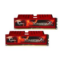 G.SKILL Ripjaws X Series 8GB (2x4GB) DDR3 1333MHz CL9 Dual Channel Kit (F3-10666CL9D-8GBXL)