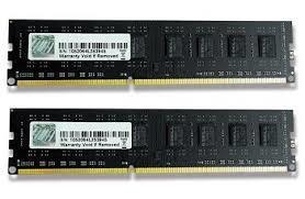 G.SKILL Value Series 8GB (2x4GB) DDR3 1600MHz Desktop Memory (F3-1600C11D-8GNT)