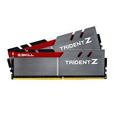 G.SKILL Trident Z Series 16GB (2x8GB) DDR4 3200MHz CL16 Dual  Channel Kit (F4-3200C16D-16GTZ)